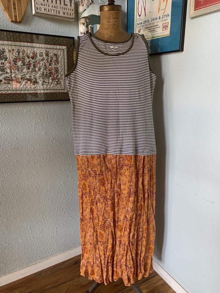 new dress design striped tee with bottom boho dress