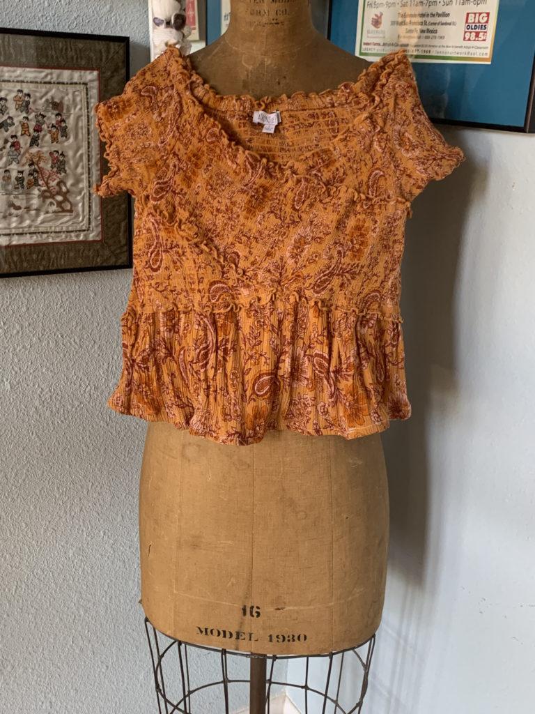 boho dress as a new top